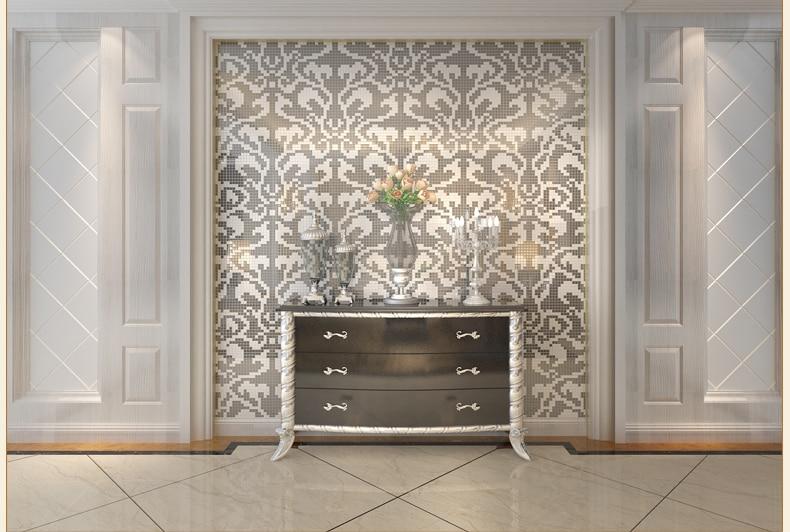 Mosaico doccia piastrelle mosaico in bagno foto design mag