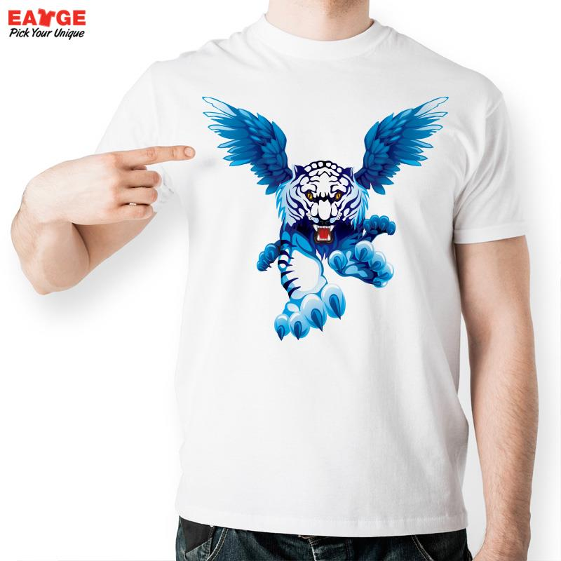 eatgeflying white winged tiger t shirt design t shirt style cool fashion