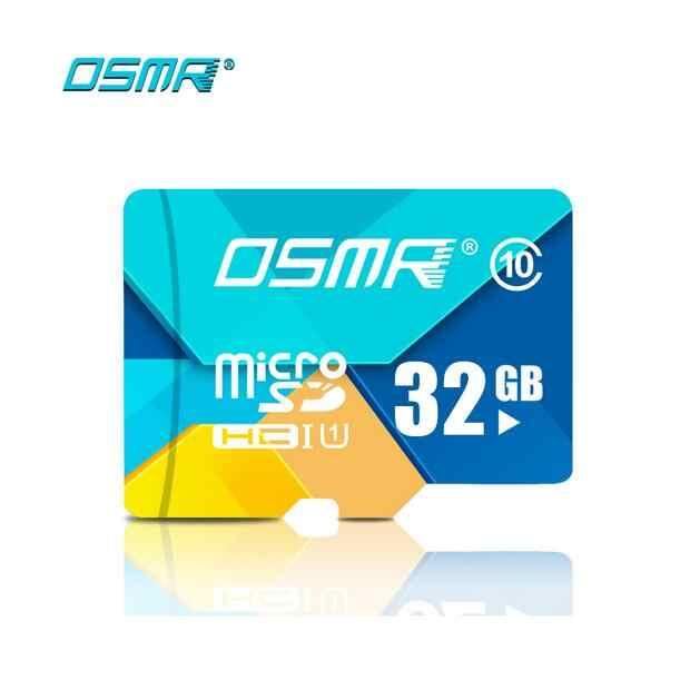 Bán buôn thương hiệu Ban Đầu OSMR thẻ Nhớ Micro SD card class 10 thẻ Nhớ 8 gb 16 gb 32 gb 64 gb Microsd thẻ 50 ps/1 BagC