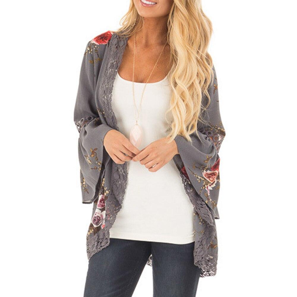 Women's Clothing Capable 2018 Summer Plus Size Women Kimono Cardigan Half Sleeve Chiffon Blouses Loose Long Tops Ladies Shirts 3xl Baseball Jackets Blusa