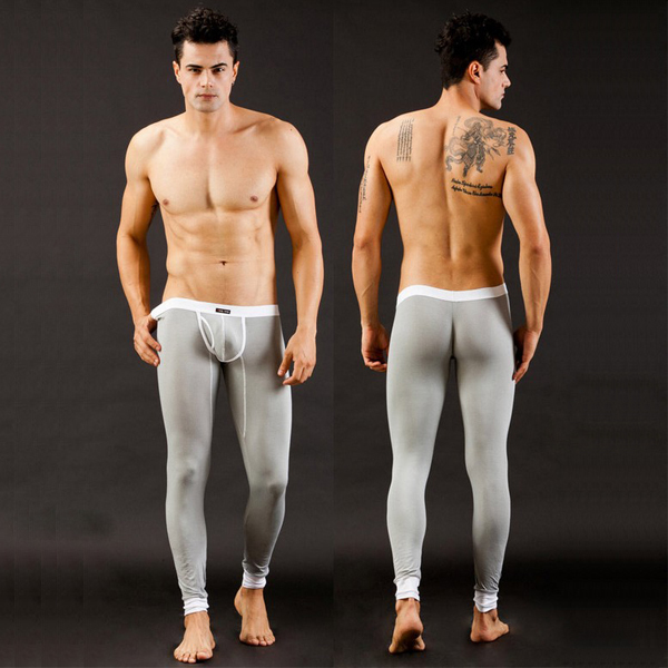 Aliexpress.com : Buy Men's Sexy smooth Thermal Underwear Long John ...