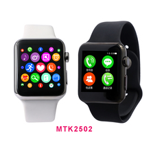 Smart Watch Sport 42mm for Apple iphone Android Samsung Smart Phone Smartwatch PSG Heart Rate Monitor Siri Smart Clock Pedomter