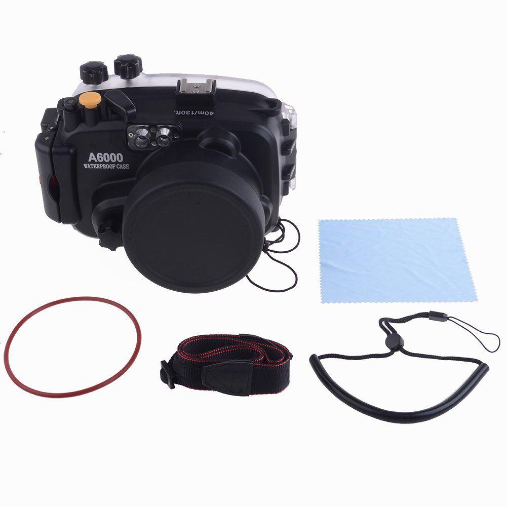 Waterproof Underwater Housing Camera bag Case for Sony A6000 16-50mm Lens waterproof underwater housing camera bag case for sony a6000 16 50mm lens