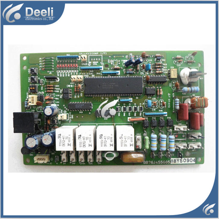 95% new good working for Mitsubishi air conditioning Computer board BB76J455G05/88Y60904 control board 95% new for haier refrigerator computer board circuit board bcd 198k 0064000619 driver board good working