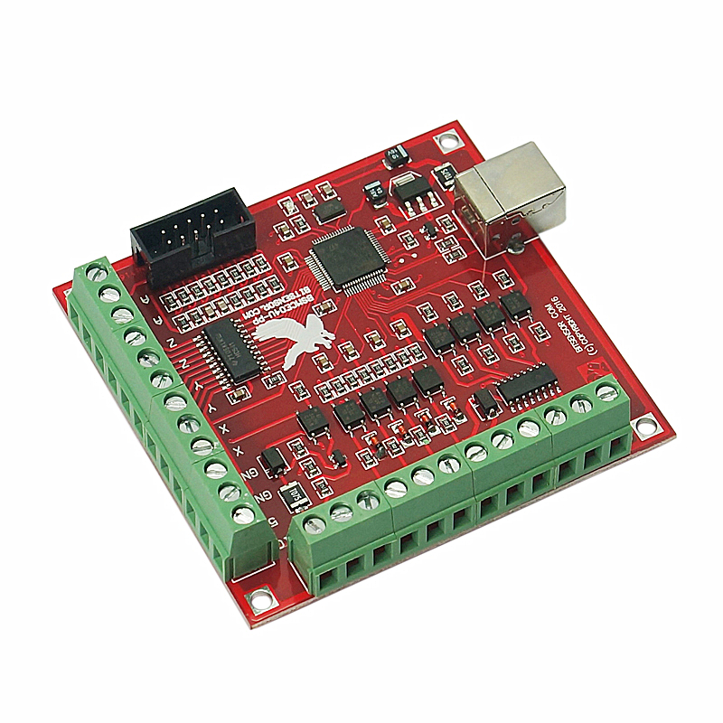 4 Axis 100KHz CNC Motion Controller Card With USB Cable Suitable for Servo/Stepping Motor 4