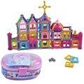 358 pçs/set varas magnéticas criança enigma educação magnética incrível conjunto diy castelo castelo animais caminhão crianças brinquedos de presente