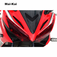 MAIKAI FOR HONDA CBR150R CBR 150R CBR150 R 2017 motorcycle Headlight Protector Cover Shield Screen Lens