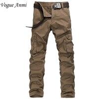 Vogue Anmi. armee militarycargo hosen mens cargo pants hose freizeitkleidung männlich overalls herren hosen 30-40 1591 #