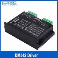 DM542 Stepper Motor Controller Leadshine 2-phase Digital Stepper Motor Driver 18-48 VDC Max 4.1A 57 86 Series Motor Driver W315