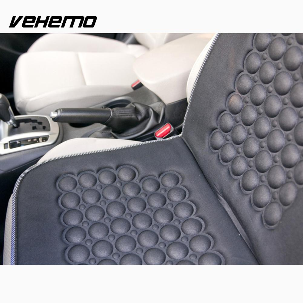 Vehemo Magnetic Car Bubble Seat Cushion Therapy Beads Home Office