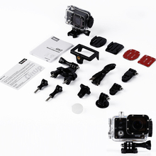 1pcs 2K 1440P Waterproof WiFi Action Camera DV WiFi Action Camera FOR GitUp Git2