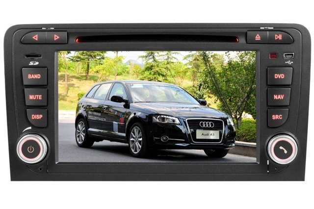 Car DVD Player for Audi A3 with GPS,TV,RDS,BT,IPOD Gift  Free Shipping&Gift    HOT SALE !!!