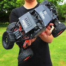 Сплав 2,4G rc автомобиль 1/16 10 км/ч внедорожный привод Bigfoot автомобили электрические четырехколесные скалолазание двойные двигатели автомобиль игрушки автомобиль для подарка