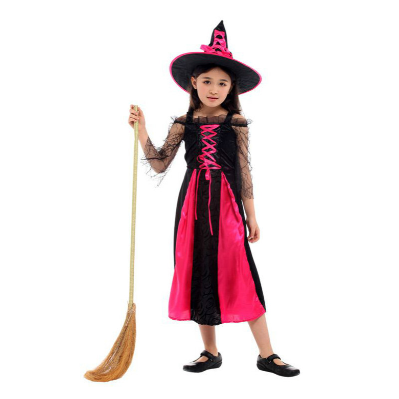 halloween costume for kids witch costume for girls Cosplay christmas child children Fantasia Infantil Carnival Party fancy dress