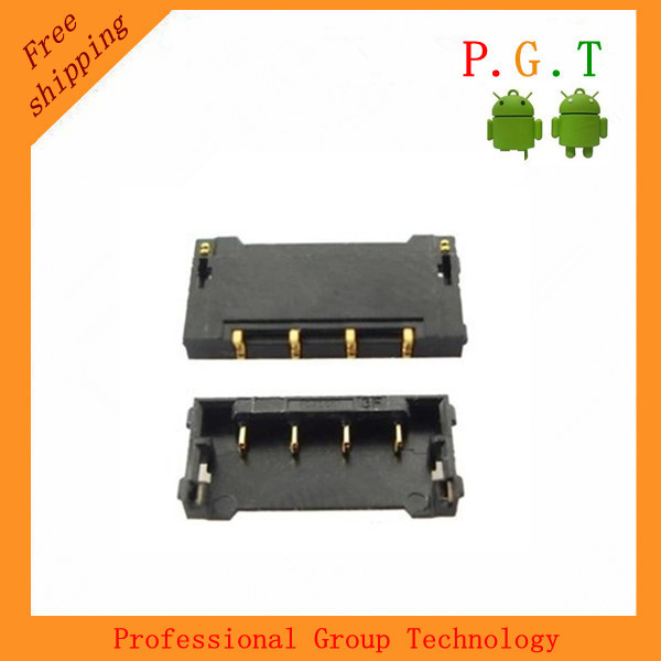 for iphone4 or 4s battery holder slot on behalf 4S battery <font><b>motherboard</b></font> power contacts