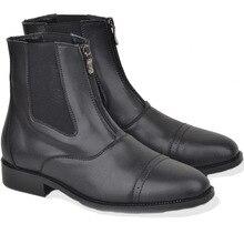 Круглый носок демисезонный модные ботинки челси для мужчин низкая молния повседневное нейтральные Ботинки Ботильоны Вышивание Твердые мотоботы