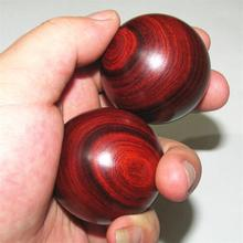rosewood, red sandalwood fitness ball massage handball playing ball player health and longevity