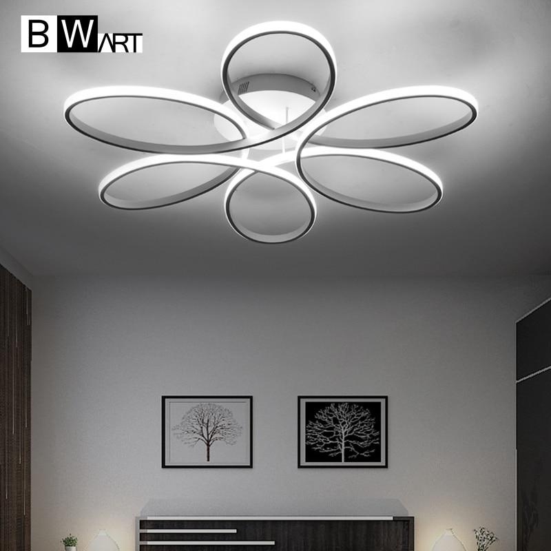 BWART Moderne Decke Lichter Fernbedienung Decke led lampe leuchte für esszimmer wohnzimmer schlafzimmer küche salon abajour luminaria luste