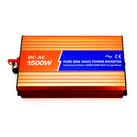 DECEN 12VDC 1500W 110V 120V 220V 230VAC 50Hz 60Hz Peak Power 3000W Off Grid Pure Sine