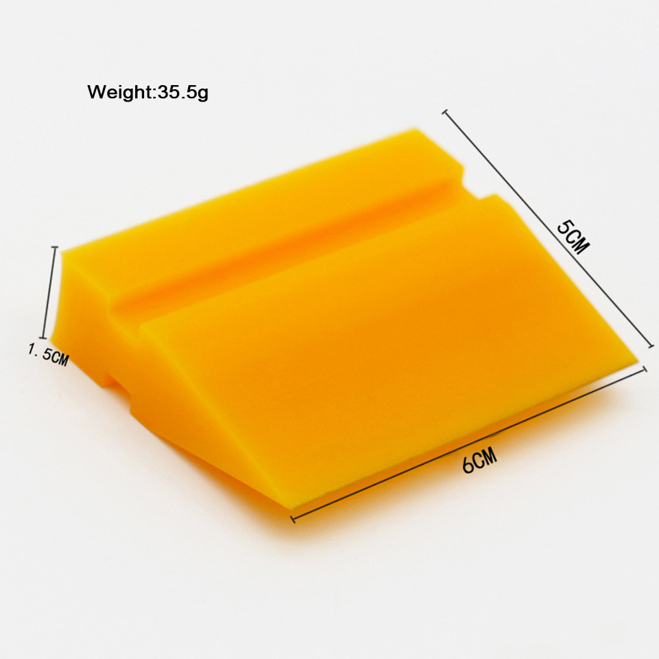 Image 2 - TPU PPF Application Rubber Squeegee Yellow Smoothie Turbo Scraper Wiper For Clear Bra Protection Film Installment MO 707 3 Sizes-in Car Stickers from Automobiles & Motorcycles
