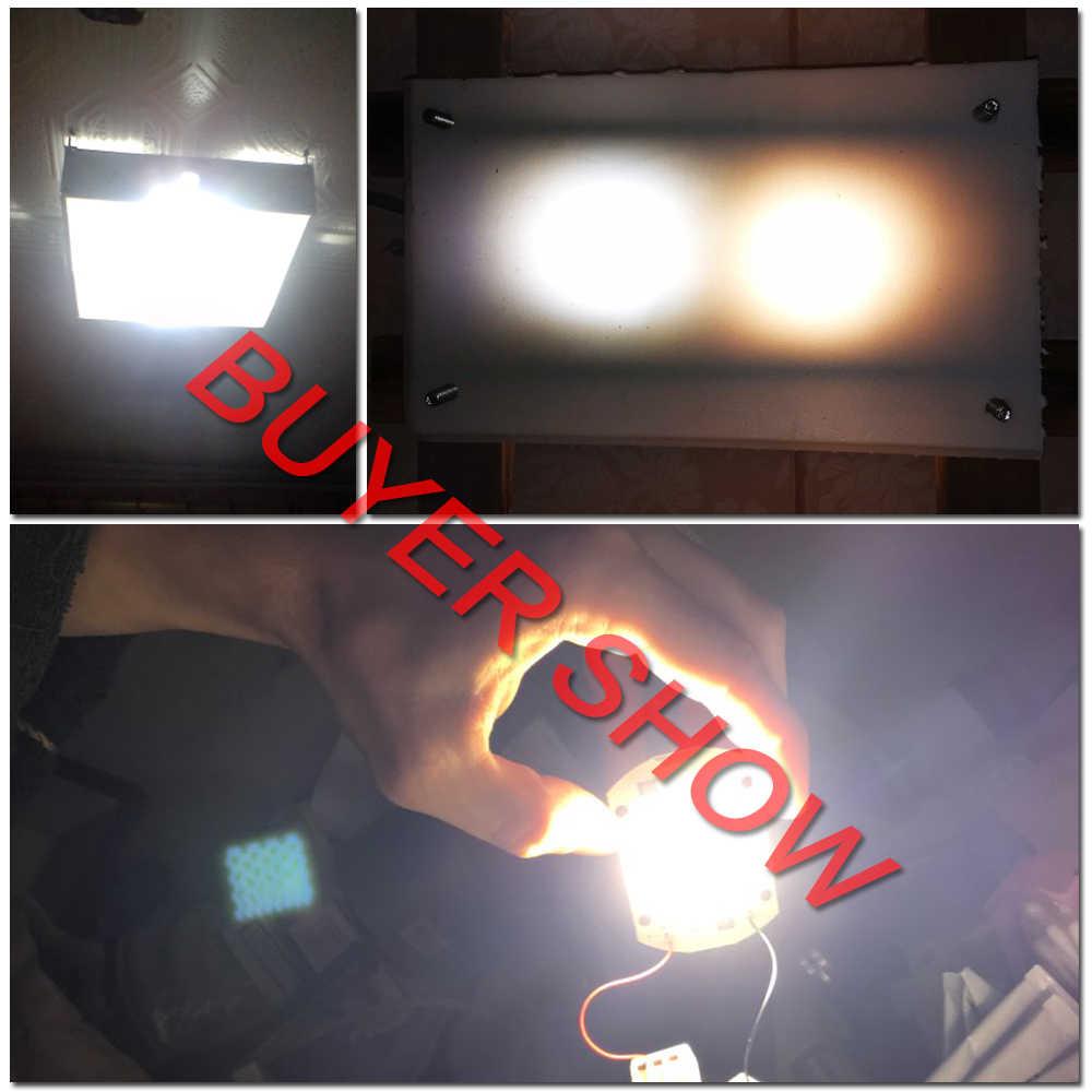 COB chip led AC 220V 240V 50W 30W 20W 10W 9W 7W 5W 3W nie ma potrzeby sterownik inteligentny IC żarówka ledowa dla majsterkowiczów reflektor szerokostrumieniowy oświetlenie