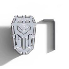 Серебряные алюминиевые аксессуары для мотоциклов расширенная