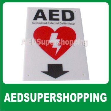 Плоский настенный знак AED