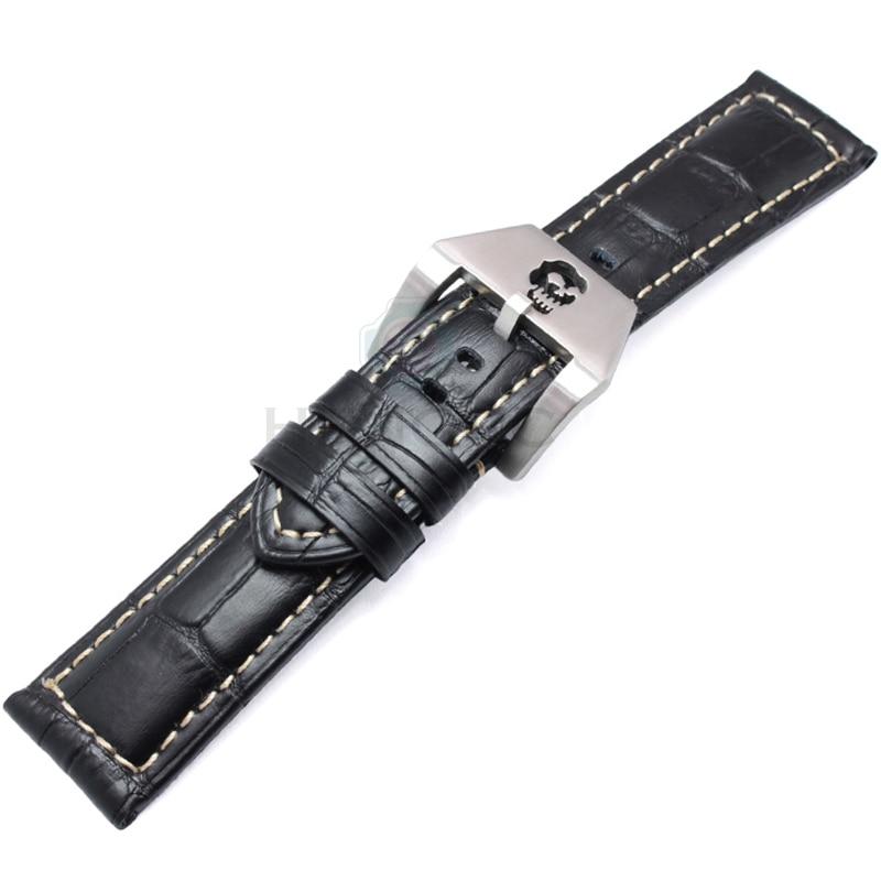 ХЕНГРЦ каишеви 22мм 24мм смеђе црне - Прибор за сатове - Фотографија 2
