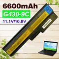 6600 mah batería para lenovo b460 b550 g430 g430a g430m g430l g450 G450 G450A G450M G550 G555 G455 G530 G530A G530M N500 B460