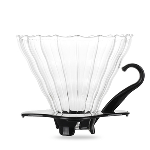 Glass Coffee Drip Filter Cup Coffee Dripper Clever Coffee Filter Engine V60 Style Portable Reusable Paperless Pour Over(China)