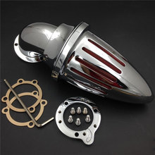 For Harley Davidson S&S custom CV EVO XL Sportster Motorcycle Air Cleaner Kit Intake Filter Chrome carolyn davidson maggie s beau