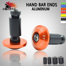Universal 7/822 CNC motorcycle handlebar cap motocross handle bar grips ends for KTM 250 exc 200 390 690 990 Duke RC SMC