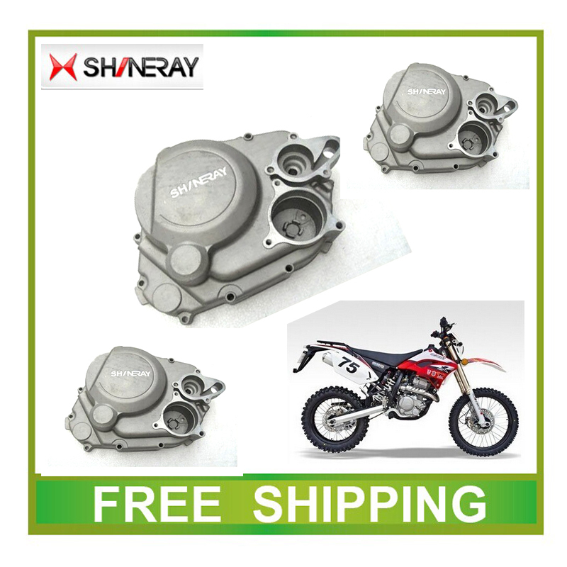 цена на SHINERAY XG250GY X2 X2X 250CC engine right cover clutch cover dirt bike accessories free shipping
