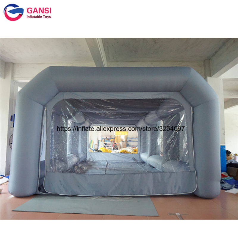 inflatable paint spray booth53