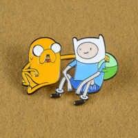 Super Cute! Del fumetto Del Cane Divertente Palmare Console di Gioco Dello Smalto Spille Spille Regalo Per I Bambini