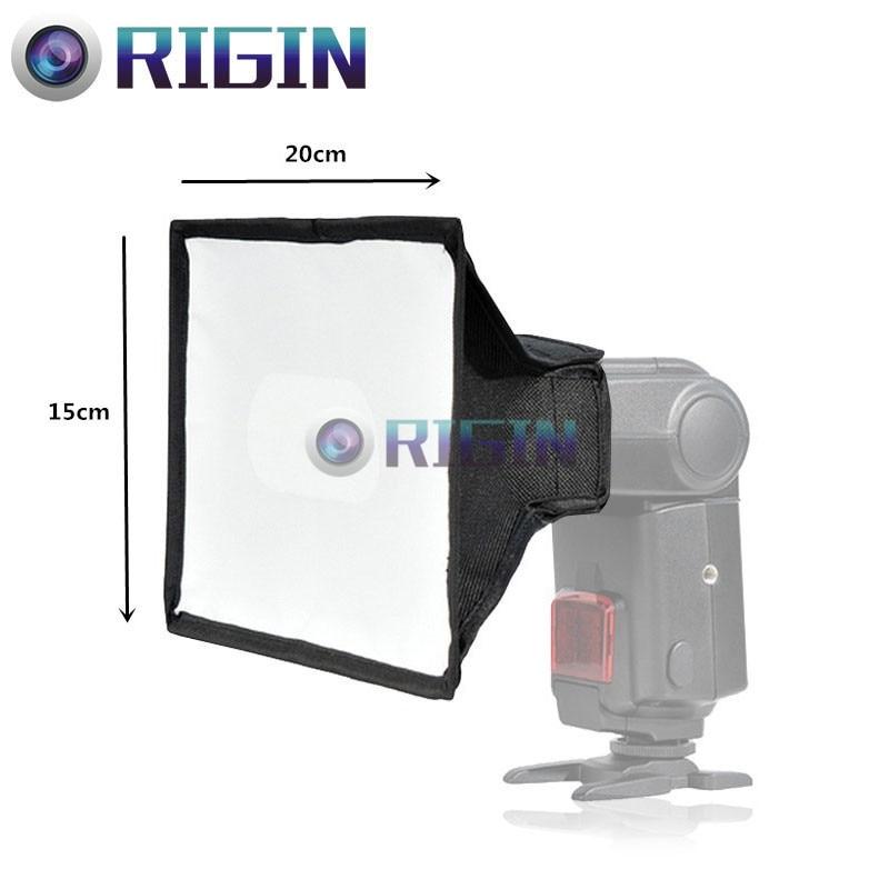 Camera flash Accessories Softbox SB1520 Size 15*20CM Portable Folding Magic Stick SoftBox For Camera Flash Free Shipping