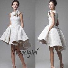 Vestido Formal Floral media pantorrilla largo Mujer Vestidos bata de soiree longue fiesta De Noiva O cuello vestidos c