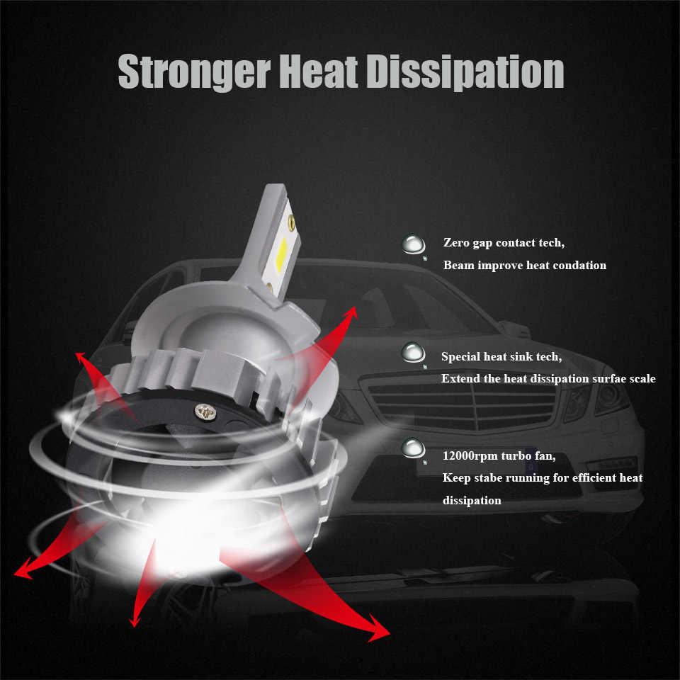 Anmingpu 2x 12000LM/комплект фар автомобиля луковицы H4 светодио дный H7 фары лампы H11 H1 H3 9005 9006 6000 К УДАРА авто туман лампочка 12 В/24 В