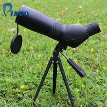 Best price 20-60X60 Spotting Scope Bird watching Binoculars, Zoom Monocular Compact Telescope for Shooting Target with Tripod Phone Bracket
