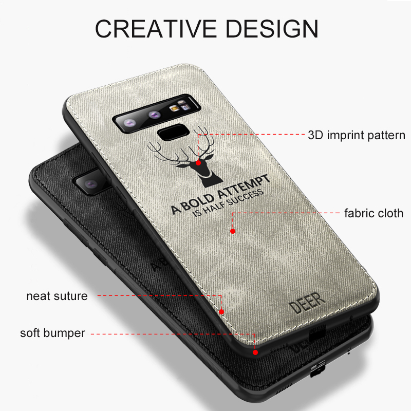 MAKAVO-For-Samsung-Galaxy-Note-9-Case-Retro-Fabric-Cloth-Texture-Soft-Cover-Anti-Sweat-Phone (2)