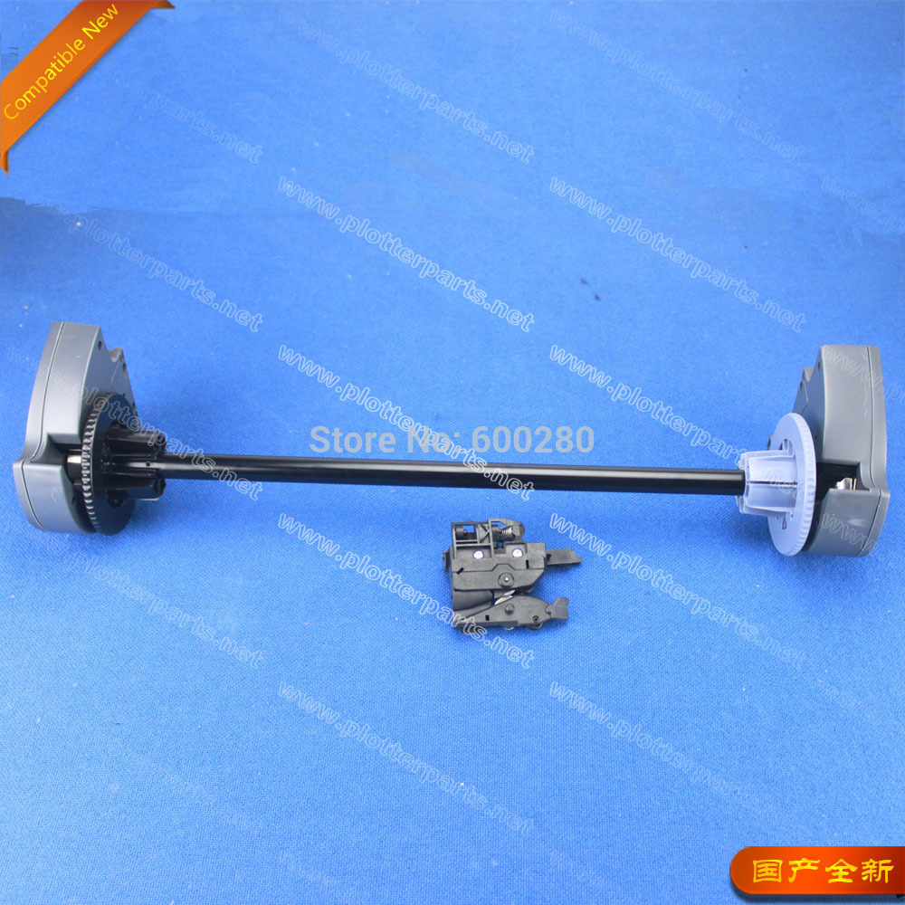 Q1247A  auto roll feed assembly for the HP DesignJet 100 110 120 130 plotter parts no POWER alsgs alb 310 200rpm 450in lb110v 220v horizontal power feed auto power table feed for milling machine x y z axis