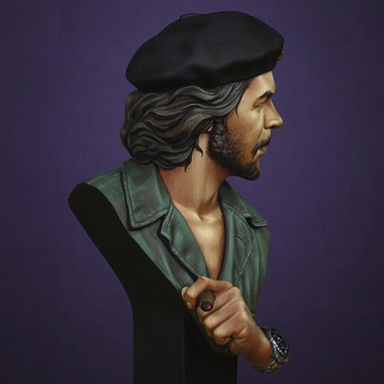 1:10 Scale Models resin bust historical film role CHE GUEVARA figures Resin model Unpainted Free shipping