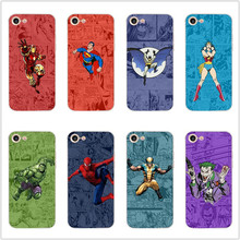 Soft silicone MARVEL Comic background Superhero case cover For iphone 7 6s 6 8 plus x xs max xr 5 5s se TPU mobile phone cases