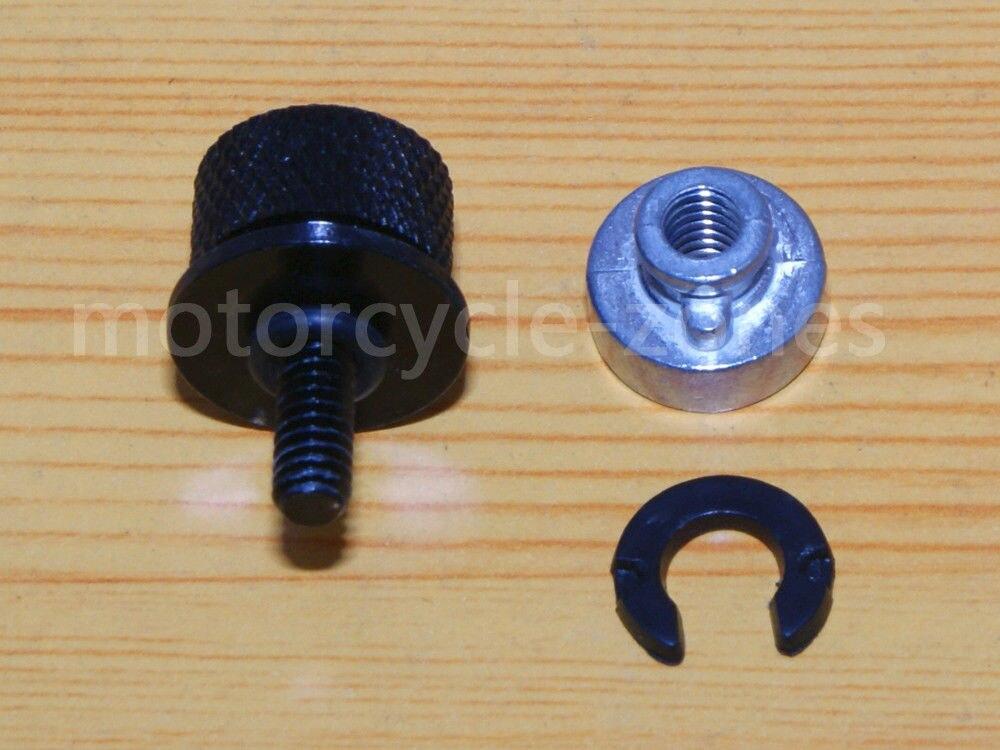 "1//4/"" CNC Seat Bolt Screw Cap for  Sportster 883 1200 Road Glide"