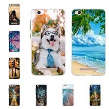 For Xiaomi Redmi 4A Case Ultra-slim Soft TPU Silicone 4 A Cover Cute Cat Patterned Coque Shell