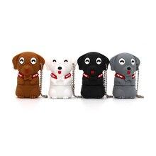 Cartoon Dog usb flash drive 4gb 8gb 16gb 32gb 64gb memory stick pendrives cute puppy usb2