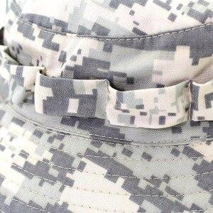 Image 3 - Outfly 디지털 위장 육군 모자 야외 캠핑 남자 짧은 브림 모자 도매 들어 갔어 바이오닉 정글 모자 양동이 모자
