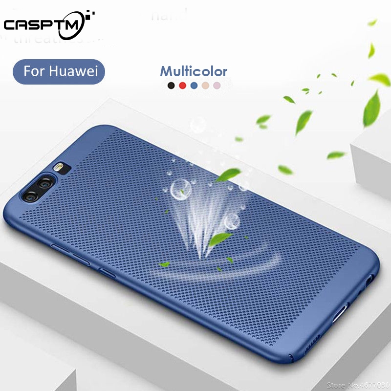 Heat Dissipation <font><b>Case</b></font> <font><b>For</b></font> <font><b>Huawei</b></font> Y9 Y7 <font><b>Y6</b></font> Pro 2019 Y9 Y7 <font><b>Y6</b></font> <font><b>Prime</b></font> <font><b>2018</b></font> Y5 Y3 2017 II 2 Hard PC Hollow Phone <font><b>Cover</b></font> Protector <font><b>Case</b></font> image