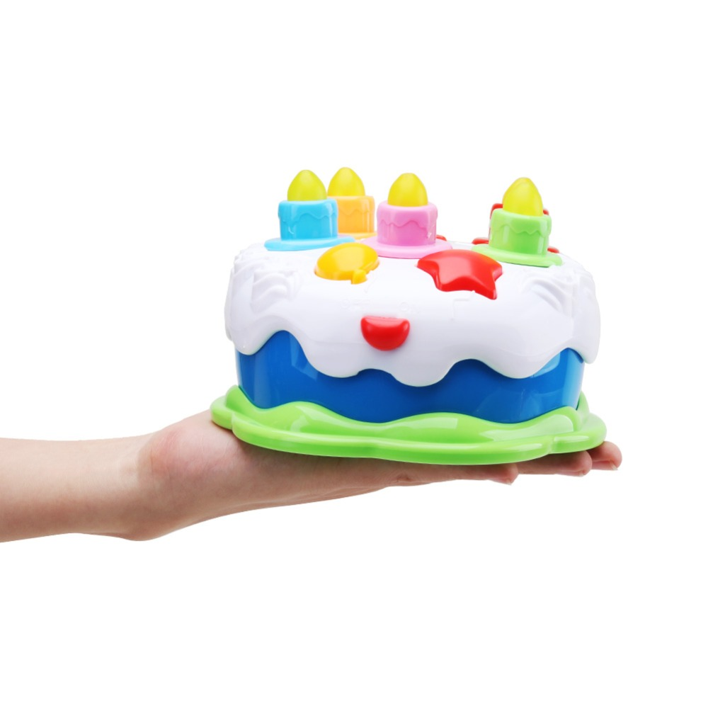 Amy  Benton Kids Birthday Cake Toy For Baby  Toddlers With Counting Candles