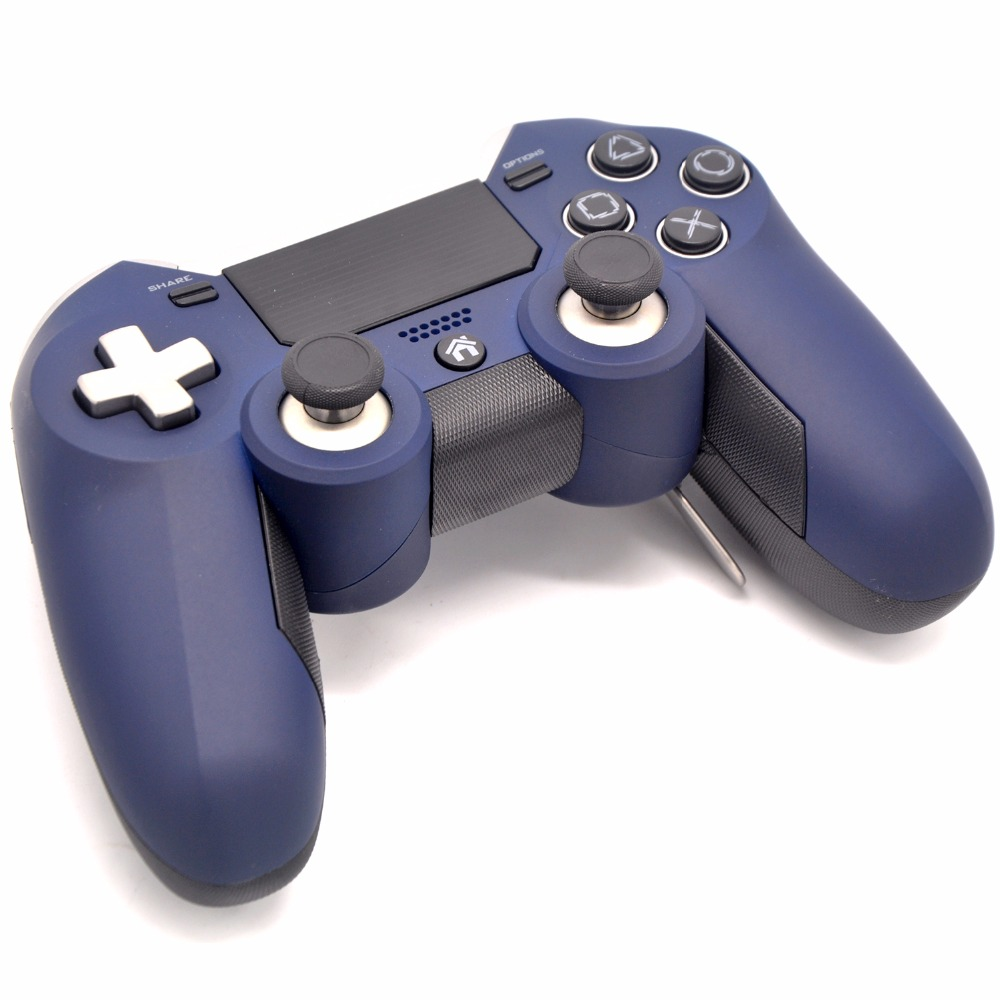 US $46 1 13% OFF|2 4G Wireless Controller for PS4 Elite Controller Gamepad  Support Touch with 4 Paddles for PlayStation 4 Console (NO 3 5mm Jack)-in